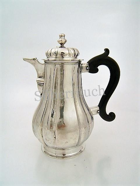 Kleine Barock Silber Kanne aus Augsburg  1729-1733