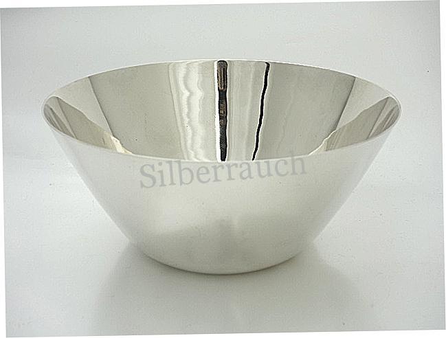 Moderne Sterling Silber Schale aus Sterlingsilber, Dänemark