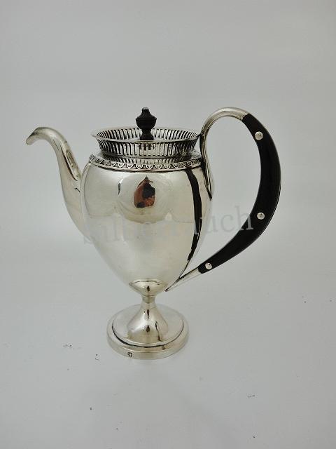 Seltene Empire Silber Kanne aus Freiburg im Breisgau