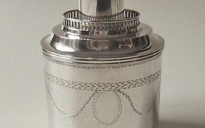 Seltene Silber Teedose aus Heide in Schleswig-Holstein