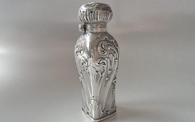Jugendstil Silber Flakon aus Frankreich