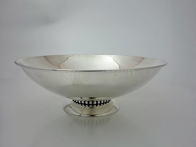 Moderne Silberschale des 20. Jahrhunderts