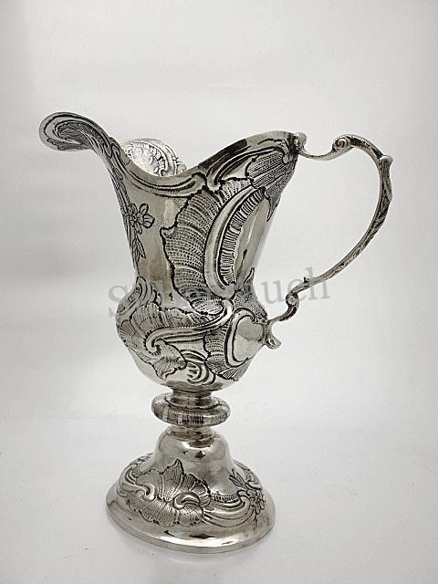 Rokoko Silber Helmkanne aus Passau, zweite Hälfte 18. Jahrhundert