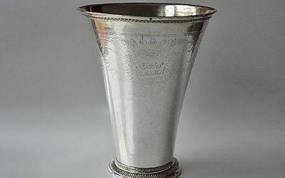 Goßer Hochzeitsbecher aus Kalmar/Schweden, 18. Jahrhundert