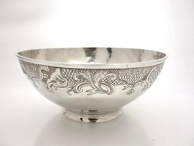 Rokoko Silber Schale aus Zutphen/Holland Dutch silver bowl from Zutphen